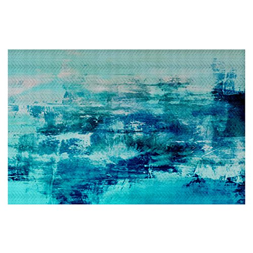 best DiaNoche Woven Area Rugs, Kitchen Mats, Bath Mats by Julia Di Sano Off The Grid IV Small 2x3 Ft