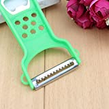 Mophorn Trendy Multifunction Double Paring Peeler Grater Frying Fruits Gadgets