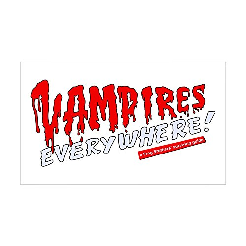 [CafePress - The Lost Boys - Vampires Everywhere Sticker - Rectangle Bumper Sticker Car Decal] (Best Cult Halloween Movies)