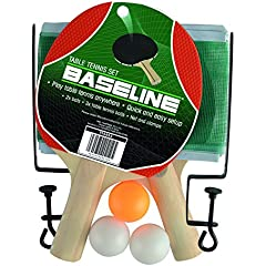 GIMTVTION Portable Table Tennis Sets School Retractable Ping-Pong Ball Set 3 Balls 2 Bats Table Tennis Net for Kids Adults Indoor Outdoor Game Fits Home Sports Club Office