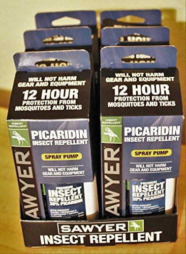 6 Pack of Sawyer Picaridin Insect Repellent Fisherman's Formula 4 oz spray SP544 (Repellent Insect Premium Sawyer)