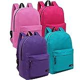 Wholesale 16.5 Inch Backpacks for Girls - Case of 24 MGgear Bulk School Bags