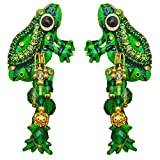 Lunch At The Ritz Froggy Livin The Life Post Earrings Rare Esme's Private Vault
