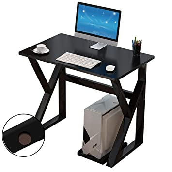 CZZ Mesa Plegable para Computadora, Mesa de Madera en Forma de K ...