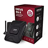 weBoost Drive 4G-X Cell Phone Booster Kit - Boosts Signal for Up to 4 Devices in Your Car- Retail Packaging - Black