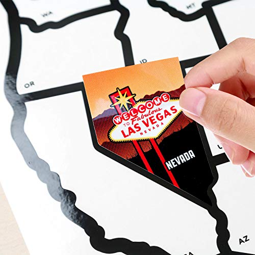 SEE MANY PLACES .com RV State Stickers United States Travel ...