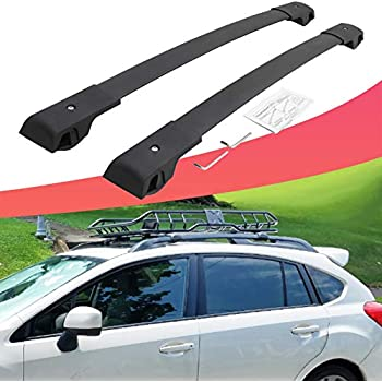 Kingcher Fit for 2014-2019 Subaru Forester Roof Rack Cross Bars Luggage Rack Crossbar 150 lbs//75 kg 2 Pieces Pack