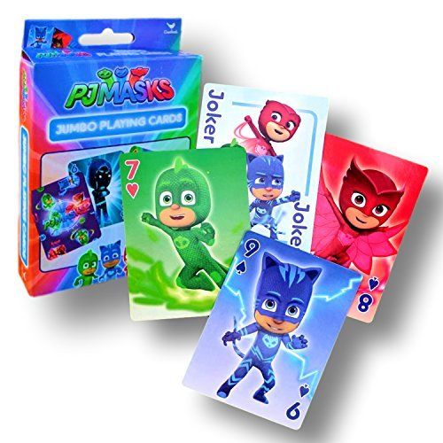 Card Games for Kids (PJ Masks Jumbo Playing