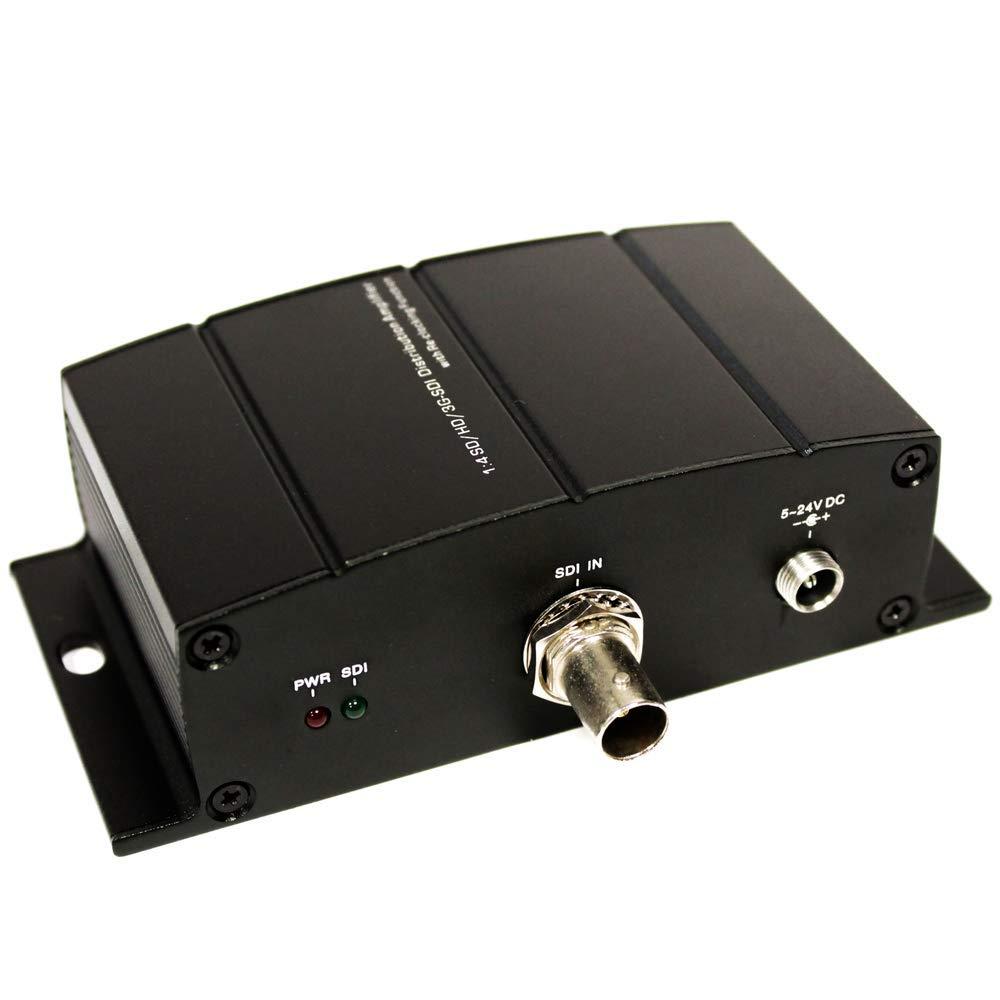 Cablematic Multiplier 4 ports r/ép/éteur SDI HD-SDI SD-SDI 3G-SDI NewBridge
