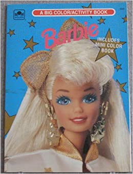 Buy Barbie Coloring Book Online At Low Prices In India