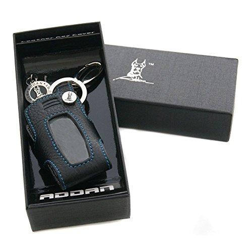 Genuine Leather Key Cover Case Bag Keyless for BMW 3 5 7 / REMOTE KR55WK49127 / 6986579-04 / BMW E90 E60 ID KR55WK49123 BMW 6954808-01