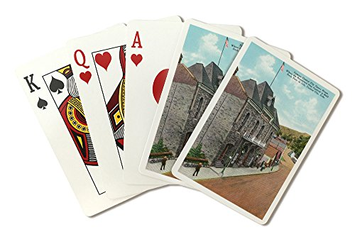 Central City, Colorado - Exterior View of the Famous Central City Opera House (Playing Card Deck - 52 Card Poker Size with Jokers)
