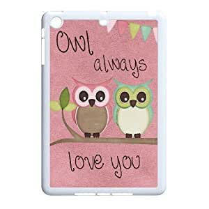 Owl art Unique Design Hard Pattern Phone Case For For iPad Case Mini color16