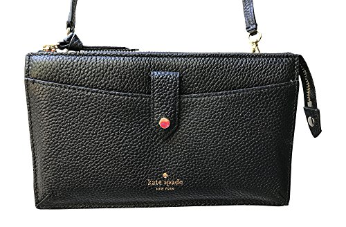 Kate Spade New York Alegra Mulberry Street Crossbody Clutch, Black by Kate Spade New York