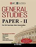 General Studies Paper II for Civil Services Main Examinations 2018