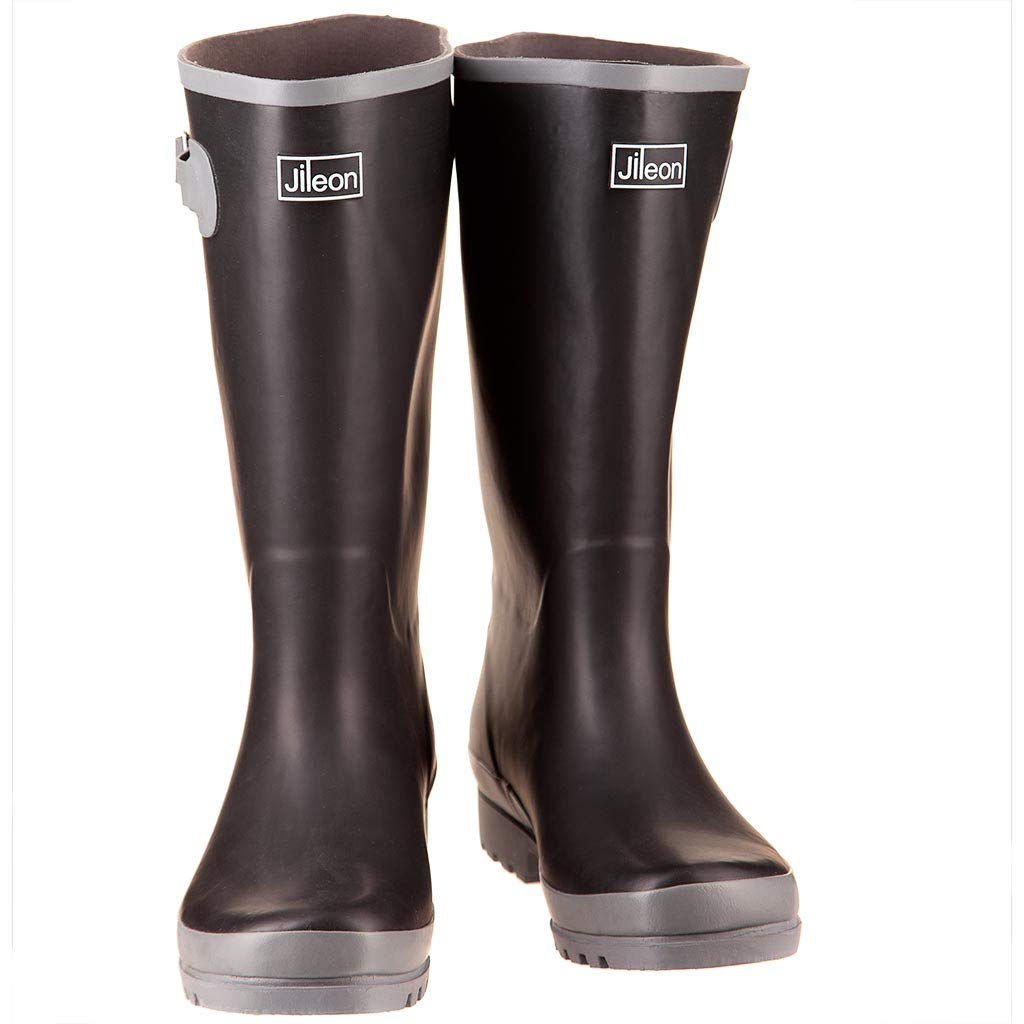 294a965c656 Jileon Wide Calf Wellies fit up to 45cm Calves - Wide in Foot and Ankle