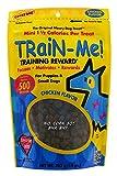 Crazy Dog Train-Me! Chicken Mini Training Reward Treats (1 Pouch), 10 Oz
