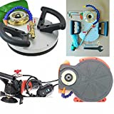 Wet Polisher Variable Speed and Variable depth Router Edge Guide Hydrofloat granite marble glass stone fabrication DVD concrete quartz laminate countertop edge shaping. must work with M10 Router Bit.