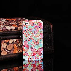 Wkae? Samsung Note 4S New Pink Butterful with Rhinestone Stone IMD create Hard Case Case For Samsung Note 4 Cover by Diebell