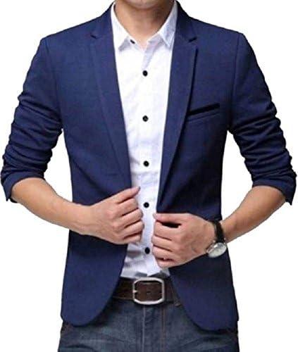 One Click Men's Royal Blue Blazer