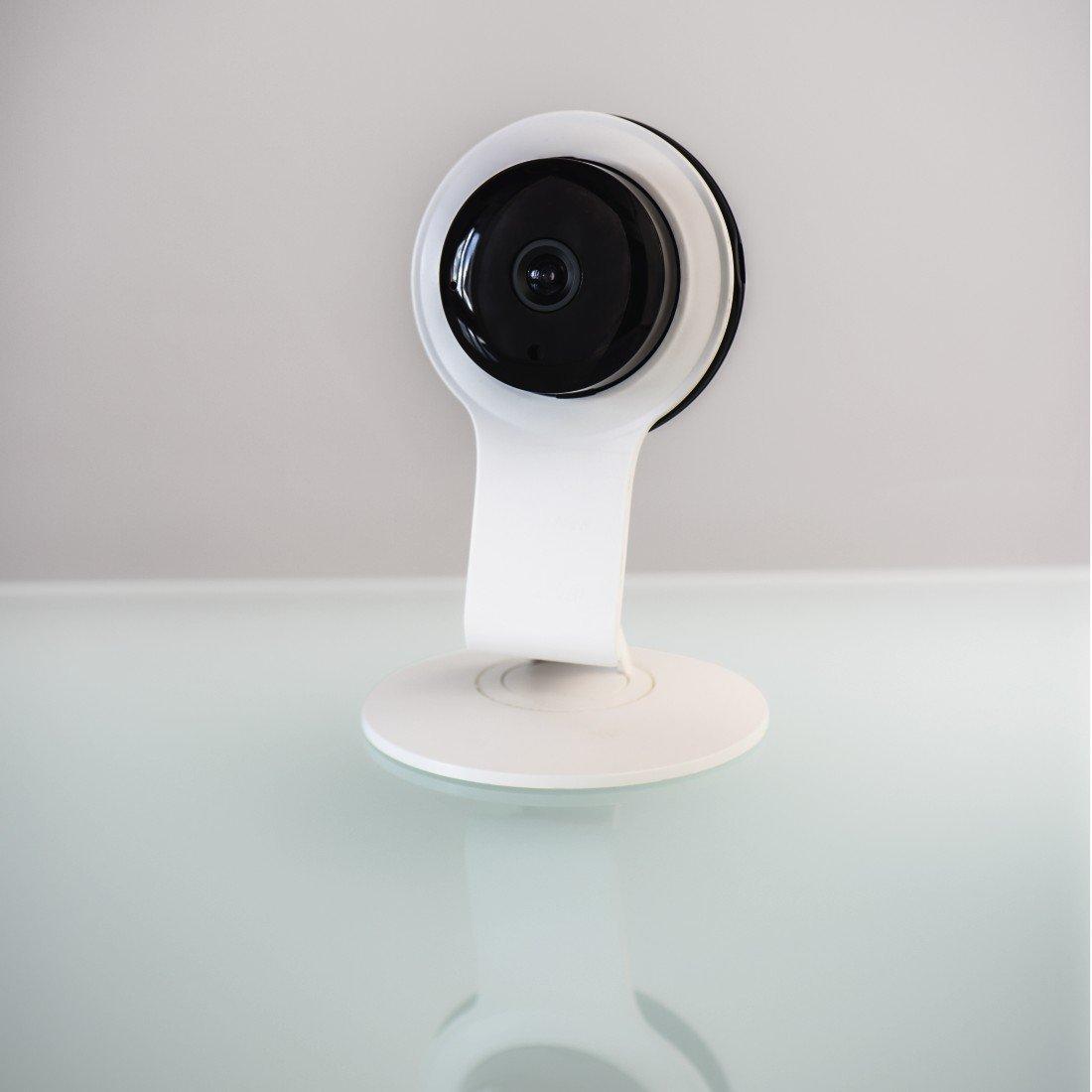 appl. Hama Cam/éra de surveillance WiFi av vision de nuit et capt.