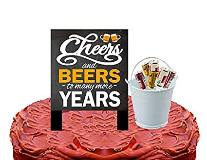 Amazon.com: Alcohol Lovers Cake/Food/Cupcake Birthday Party ...