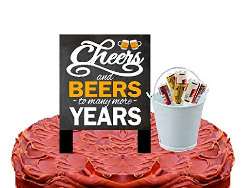 Alcohol Lovers Cake/Food/Cupcake Birthday Party Decoration Topper Picks