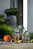 home + Laterne aus Edelstahl – Rostfrei – verschiedenen Größen: klein – XL - 6