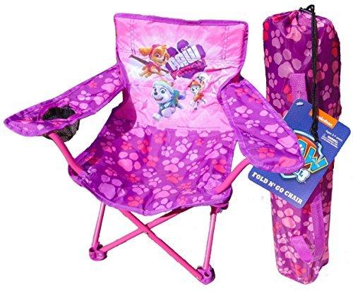 Nickelodeons Skye Purple Paw Patrol Fold N Go Chair With Skye by Kid's Chairs