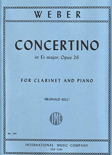 (Concertino for Clarinet and Piano (Reginald Kell) Opus)