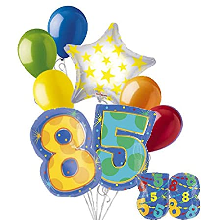 Image Unavailable Not Available For Color 8 Pc 85th Birthday Theme
