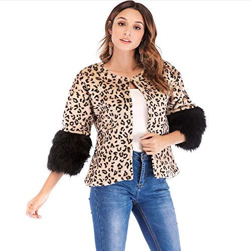 Per De Mode Marca Khaki Leopardato Invernale Cardigan Cappotto Donne Le Bolawoo Autunnale Delle Signore sQBxthrCd