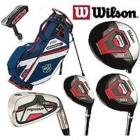 Wilson Prostaff HDX Complete Golf Club Graphite Set & 2018 EXO 2019 Stand Bag New