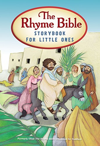 The Rhyme Bible Storybook for Toddlers by Sattgast L. J. (2014-02-25) Board book