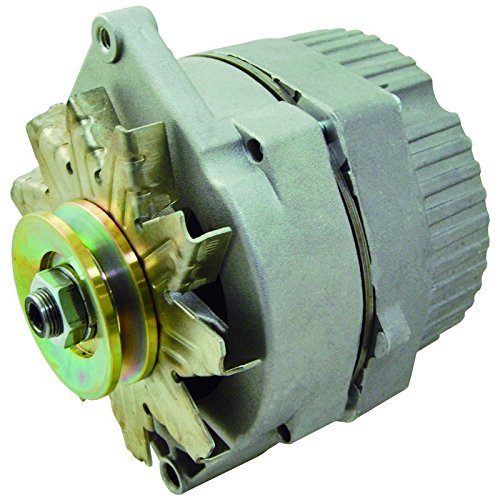 New Alternator Replaces Delco 10SI 10 SI For Case Holland Farm Gm Jeep Car Truck, Ihc International Farmall Tractor, Loader, Combine 1973-1976, Cotton Picker ()