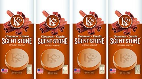 Sterling Teal (K16004-4) K29 'Cinnamon' Stone Air Freshener, (Pack of 4)