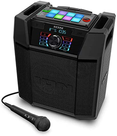 ION Explorer FX Excessive-Energy Bluetooth Speaker with Sound Results IPX4 Water-Resistant (Renewed)