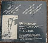 Staedtler Mars Techniplast Eraser Cores Box Lot of 12