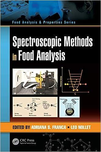Spectroscopic Methods in Food Analysis Food Analysis & Properties: Amazon.es: Adriana S. Franca, Leo M.L. Nollet: Libros en idiomas extranjeros