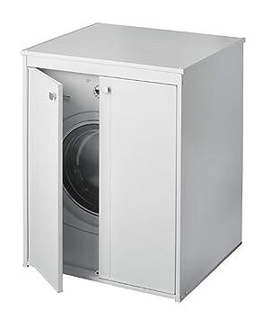 Meuble Pour Machine A Laver Seche Linge Ouverture A 2