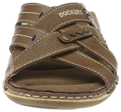 38sd006 Desert Gladiator 460 Sandals Brown Men's Dockers Gerli 600460 by qSZwBt