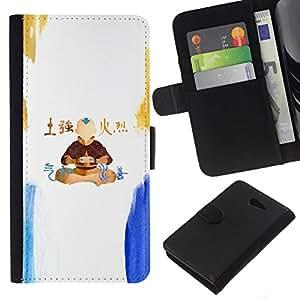 // PHONE CASE GIFT // Moda Estuche Funda de Cuero Billetera Tarjeta de crédito dinero bolsa Cubierta de proteccion Caso Sony Xperia M2 / Airbender /