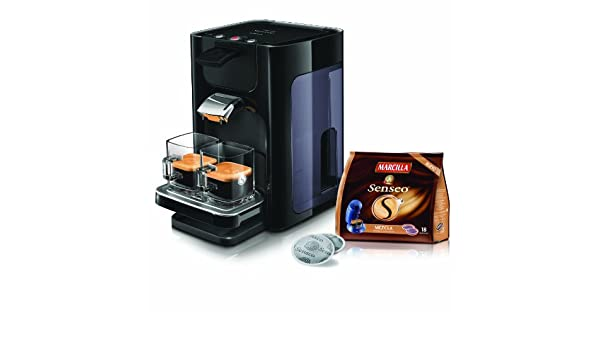 Philips HD7860/62 Sistema de monodosis de café SENSEO Quadrante ...