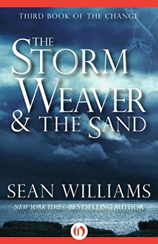 book cover of The Storm Weaver and the Sand