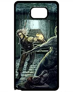 1984272ZA680855833NOTE5 2015 New Super Strong The Witcher Epic Geralt Tpu Case Cover For Samsung Galaxy Note 5 Bettie J. Nightcore's Shop