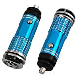 Mini Auto Car Fresh Air Purifier/Ionizer Oxygen Bar, 12V, Blue