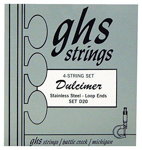 Strings Acoustic GHS D20 DulcimerStainless Steel 42Wd