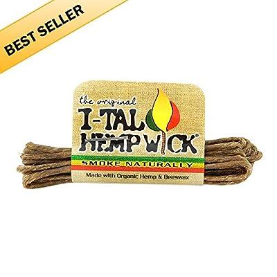 I-Tal Hemp Wick (2 Boxes - 50 Wicks per Box) - MJ-2125