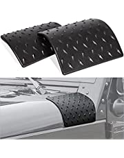 Danti Latest Black Cowl Body Armor Outer Cowling Cover For Jeep Wrangler Rubicon Sahara Jk Unlimited 2007 2008 2009 2010 2011 2012 2013 2014 2015 2016 2018
