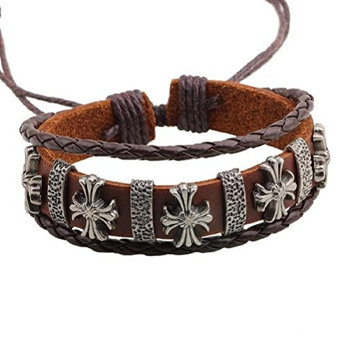 fariishta-jewelry-fashion-religous-style-cross-hand-braided-leather-bracelet
